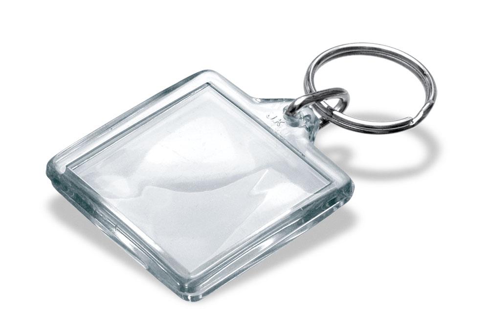 Брелок DERBY, прозрачный