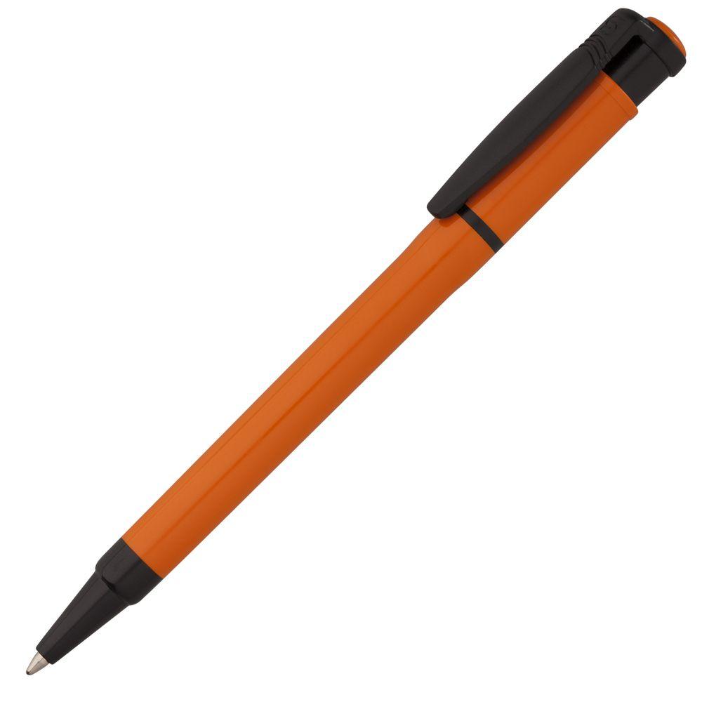 Ручка шариковая Kreta Special, оранжевая с черным