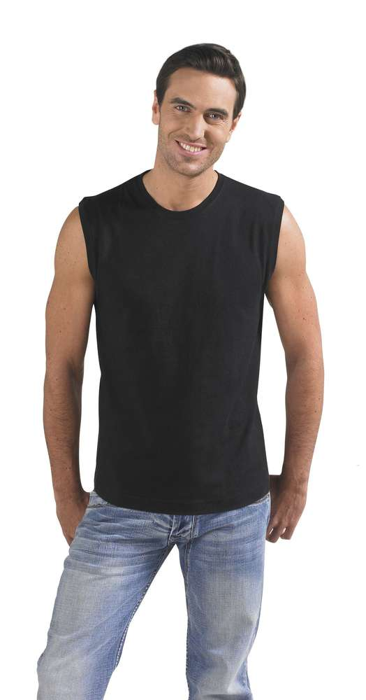 Футболка мужская без рукавов JAZZY 170 черная