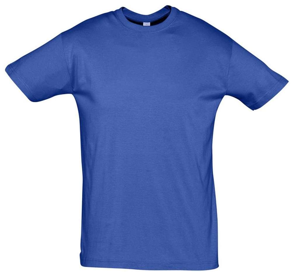 Футболка REGENT 150 ярко-синяя (royal)