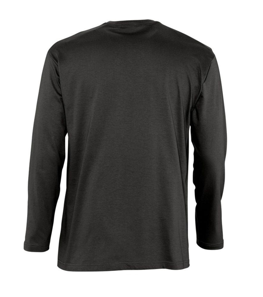 Футболка мужская с длинным рукавом MONARCH 150 черная