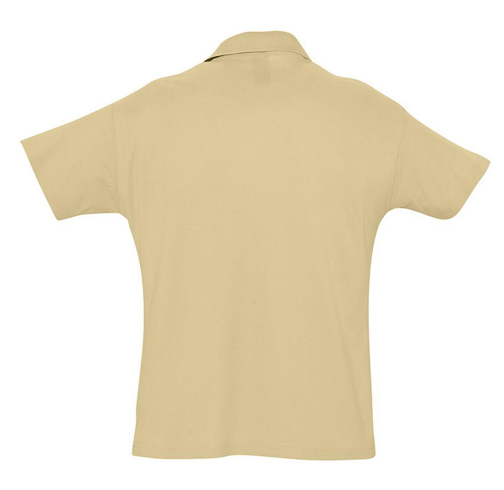Рубашка поло мужская SUMMER 170 бежевая