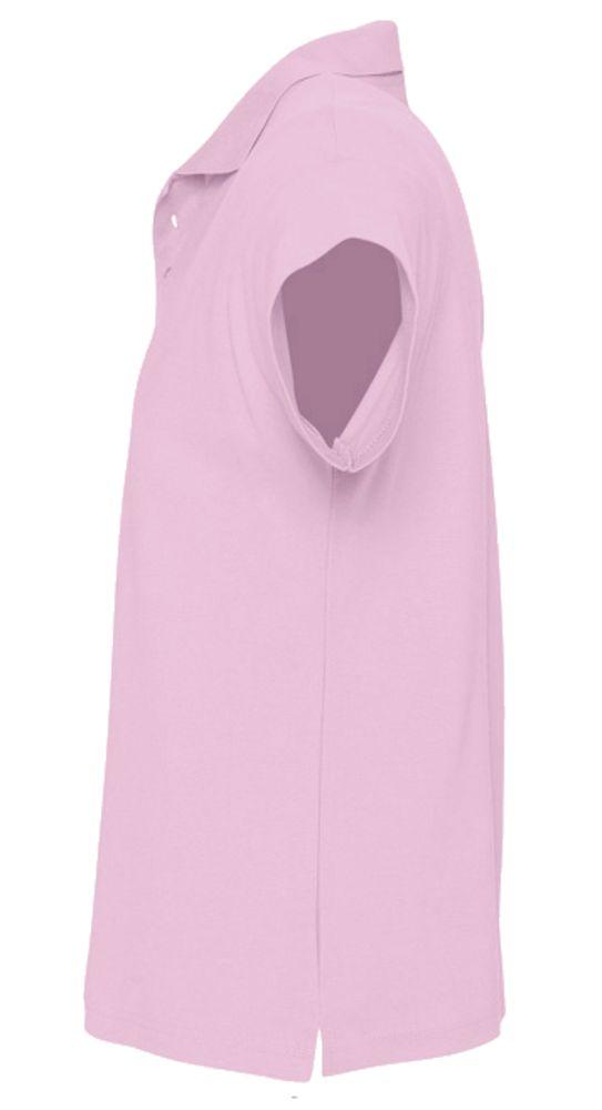 Рубашка поло мужская SUMMER 170 розовая