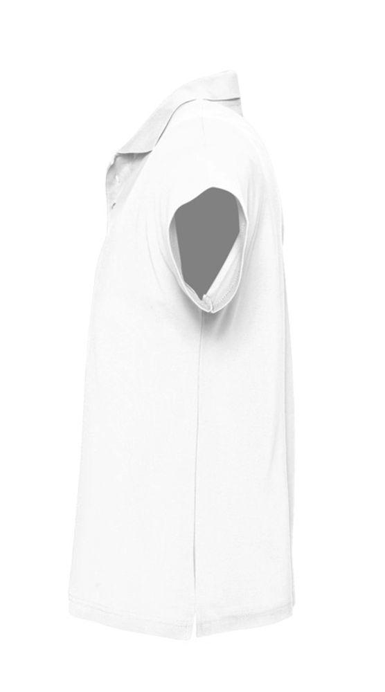 Рубашка поло мужская SUMMER 170 белая