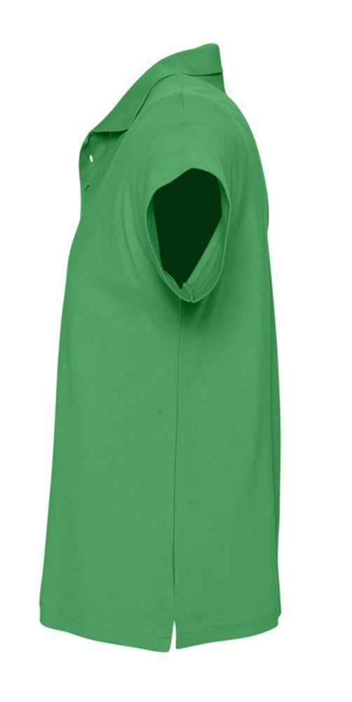 Рубашка поло мужская SUMMER 170 ярко-зеленая