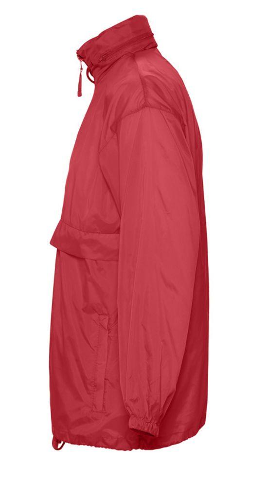 Ветровка из нейлона SURF 210 красная