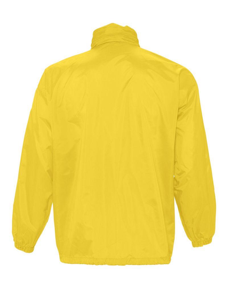 Ветровка из нейлона SURF 210 желтая