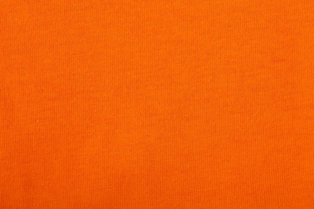 Футболка женская MELROSE 150 с глубоким вырезом оранжевая