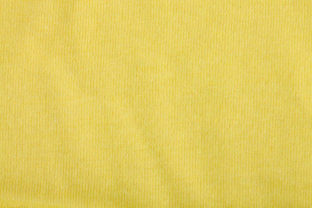 Футболка женская MELROSE 150 с глубоким вырезом лимонно-желтая