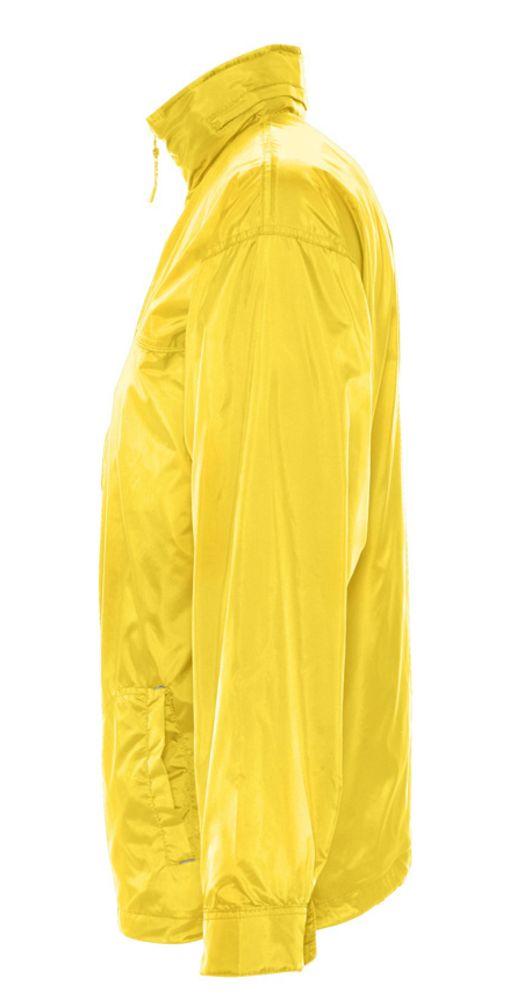 Ветровка мужская MISTRAL 210 желтая