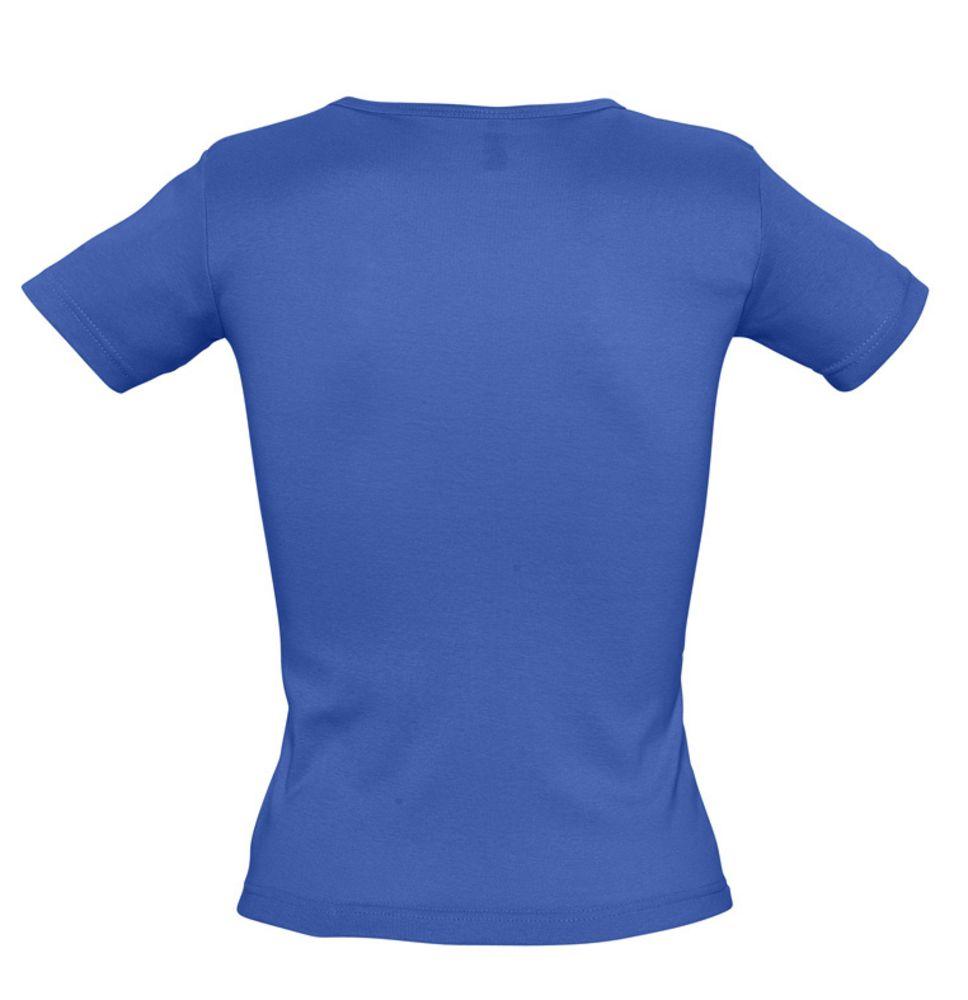 Футболка женская LADY 220 с V-обр. вырезом, ярко-синяя (royal)