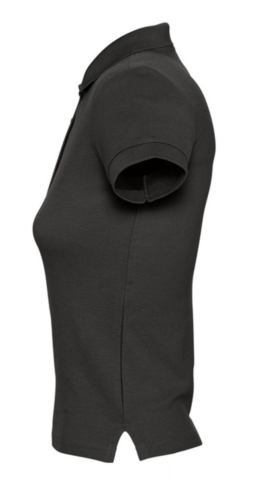 Рубашка поло женская PEOPLE 210 черная