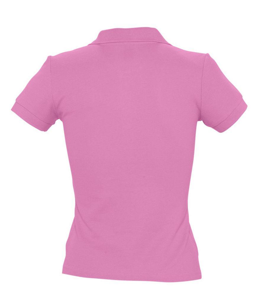 Рубашка поло женская PEOPLE 210 «розовая орхидея»