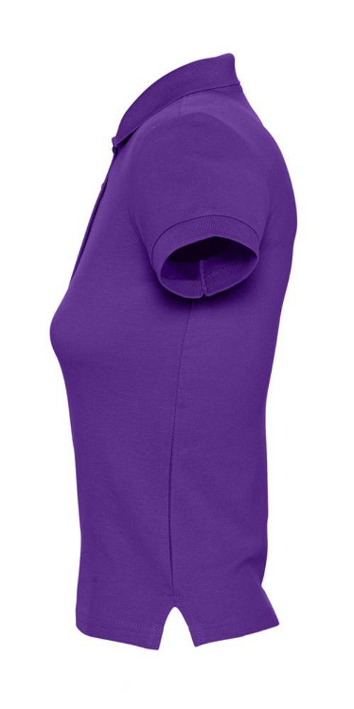 Рубашка поло женская PEOPLE 210 темно-фиолетовая