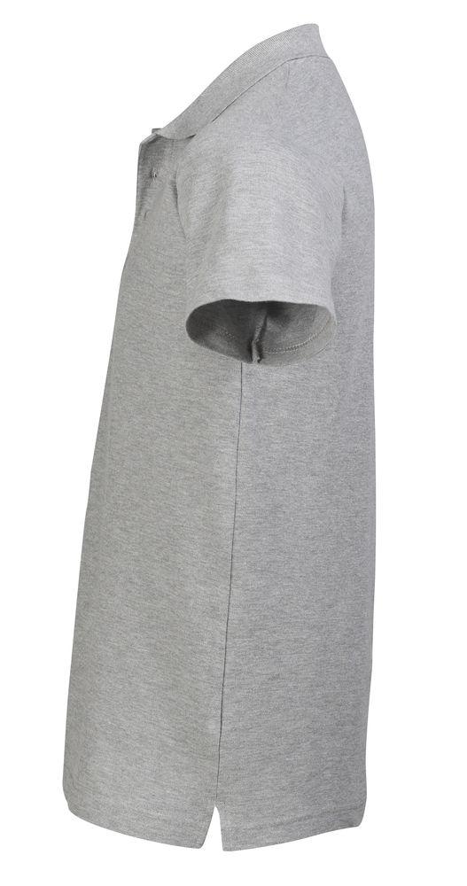 Рубашка поло мужская SPRING 210 серый меланж