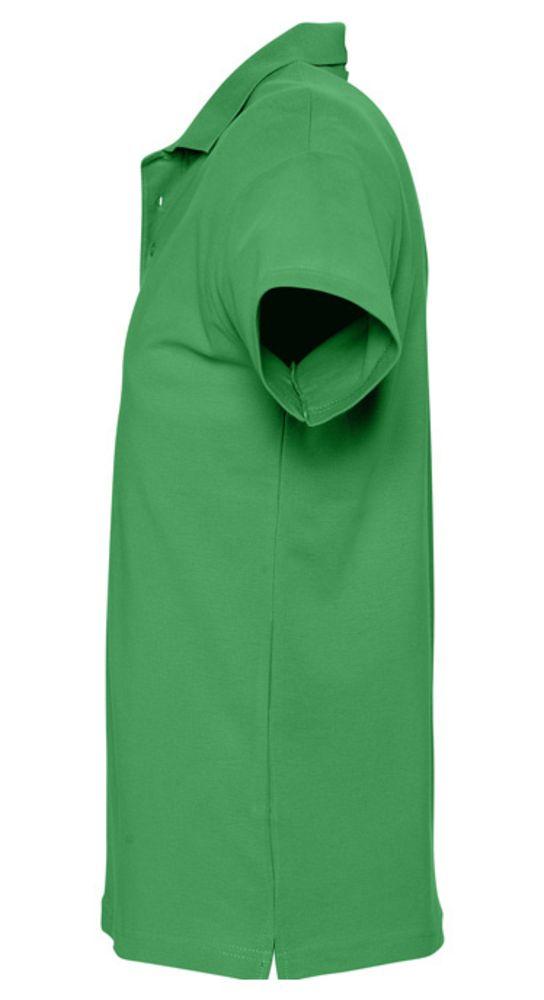 Рубашка поло мужская SPRING 210 ярко-зеленая