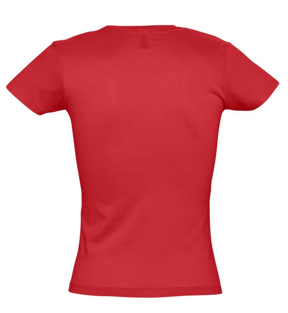 Футболка женская MISS 150 красная