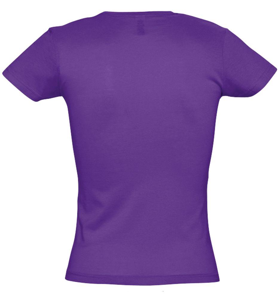 Футболка женская MISS 150 темно-фиолетовая