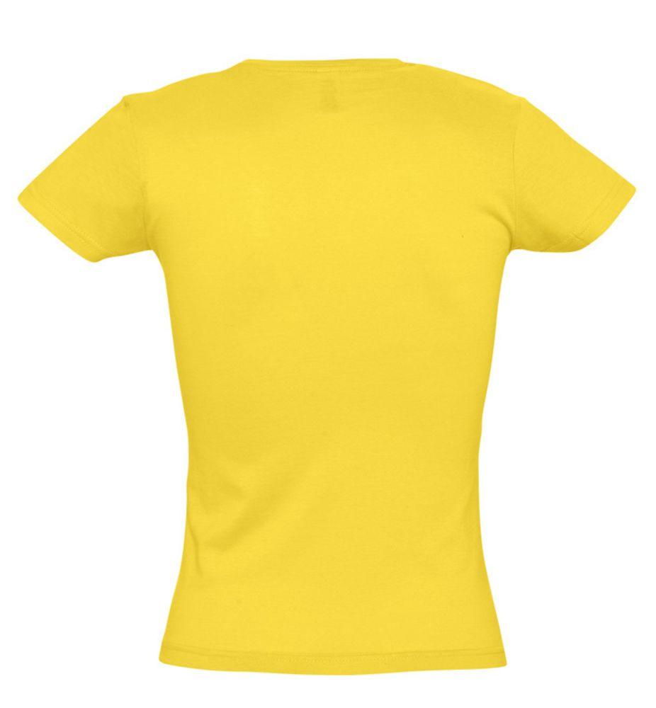 Футболка женская MISS 150 желтая