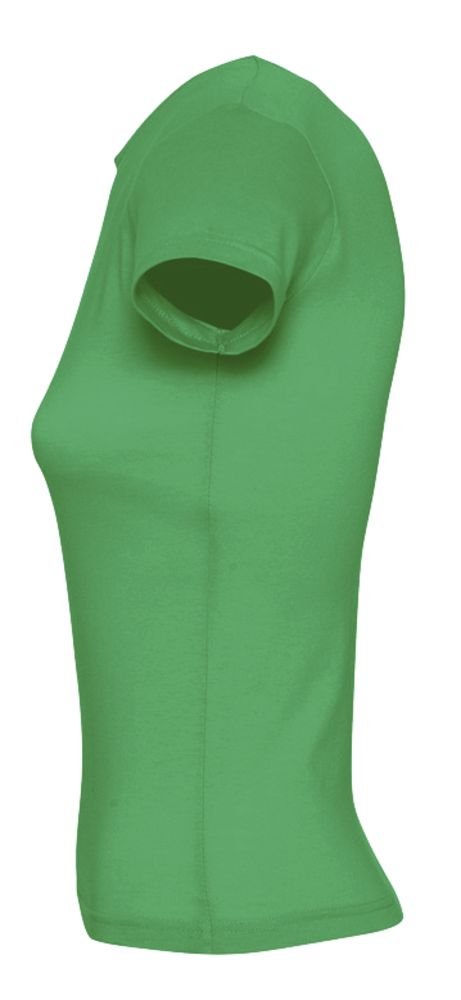 Футболка женская MISS 150 ярко-зеленая