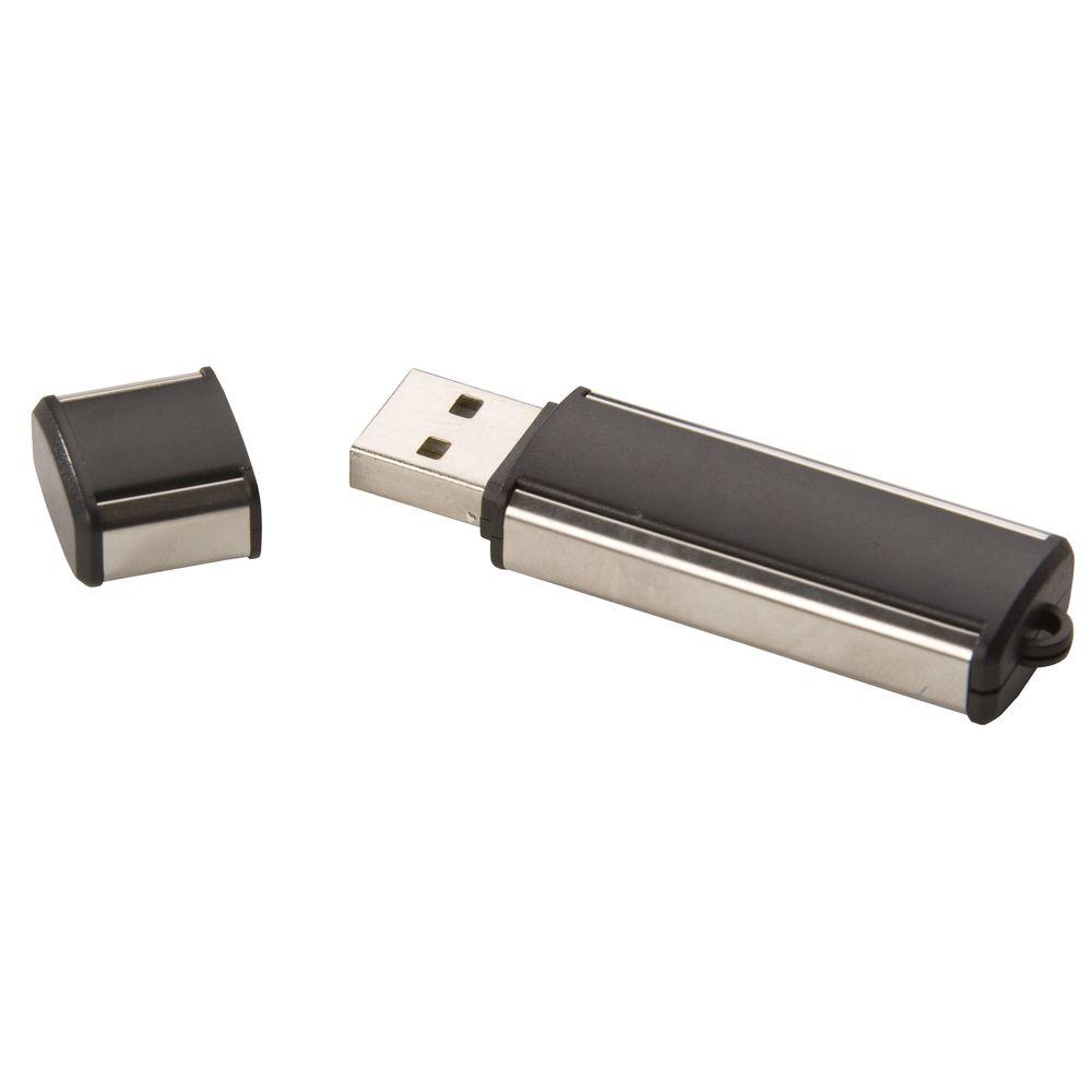 USB-флеш-карта, черная, 4 Гб