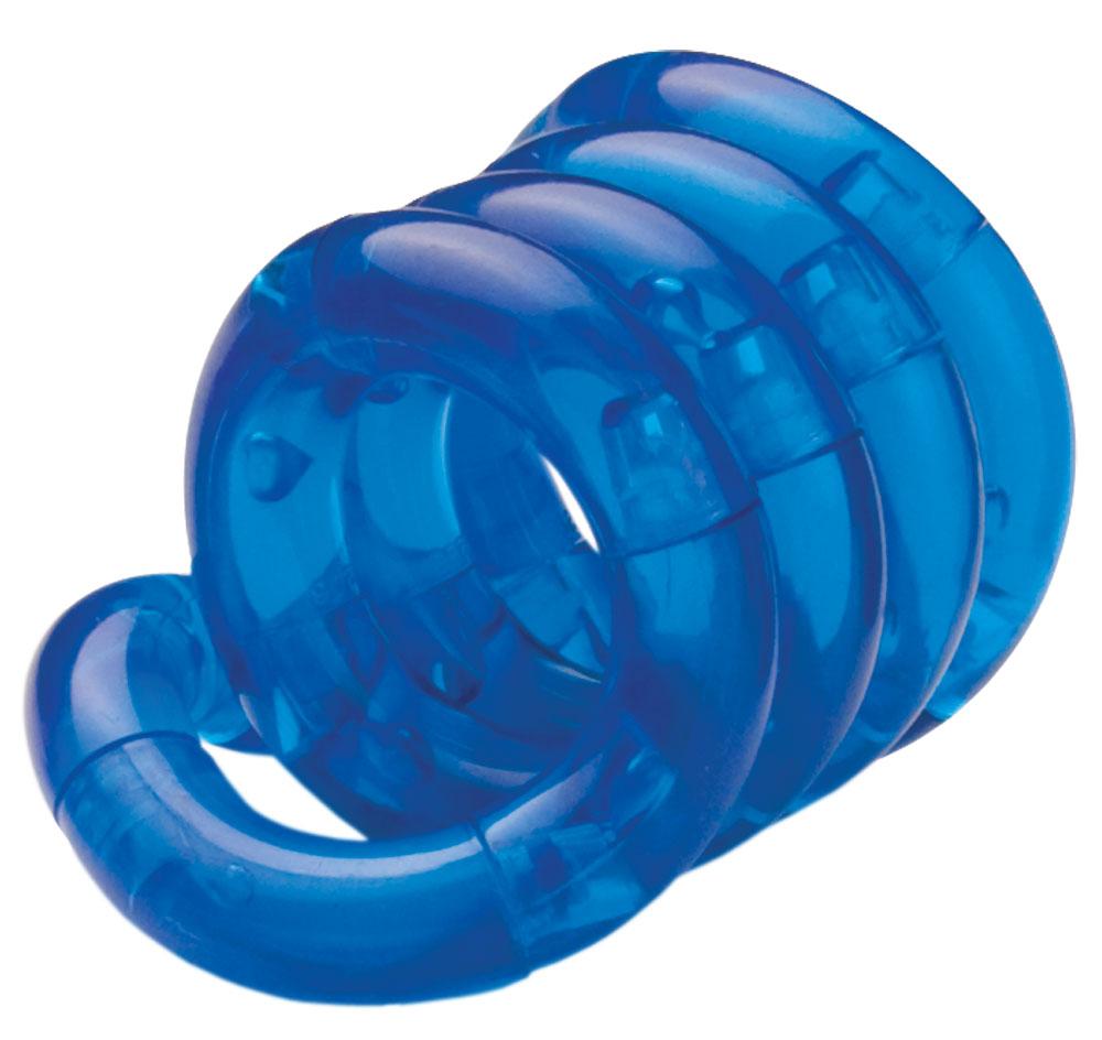 Антистресс Tangle прозрачный, синий
