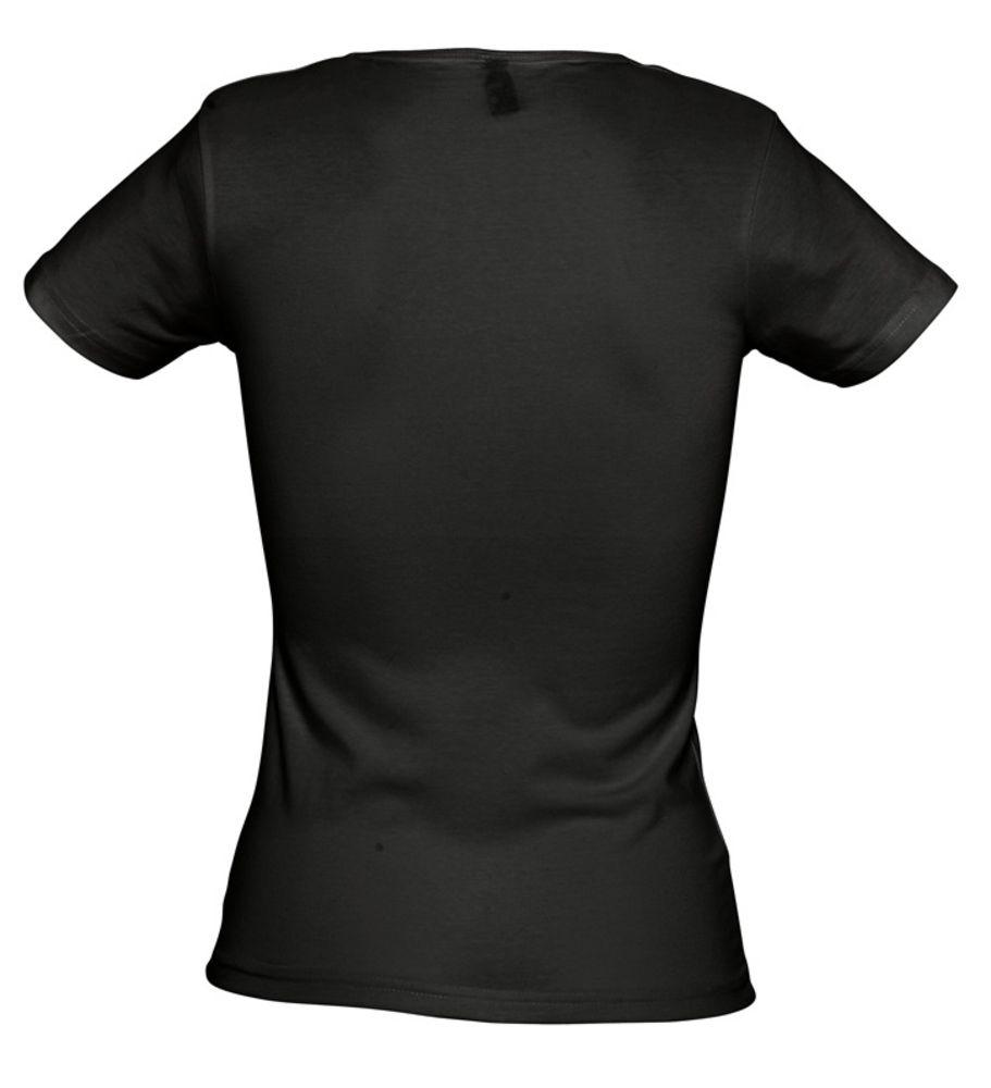 Футболка стрейч женская MIAMI 170 черная