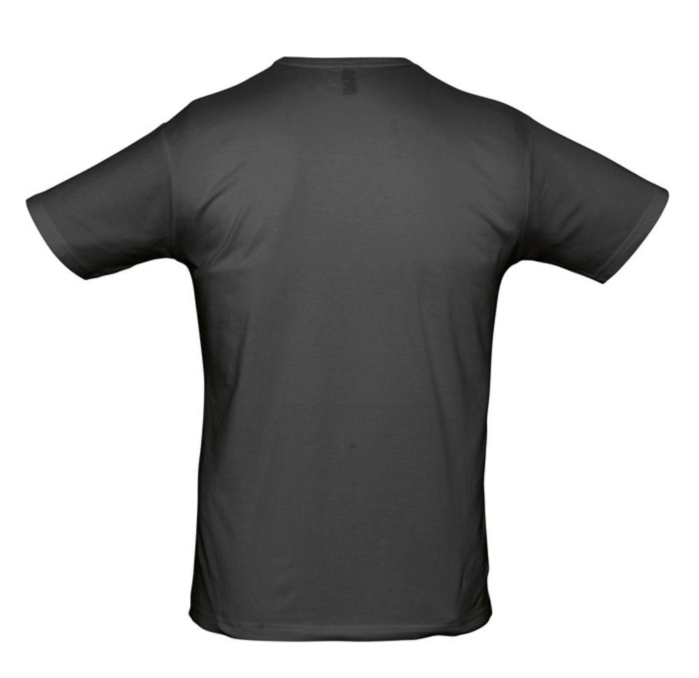 Футболка стрейч мужская MILANO 190 черная