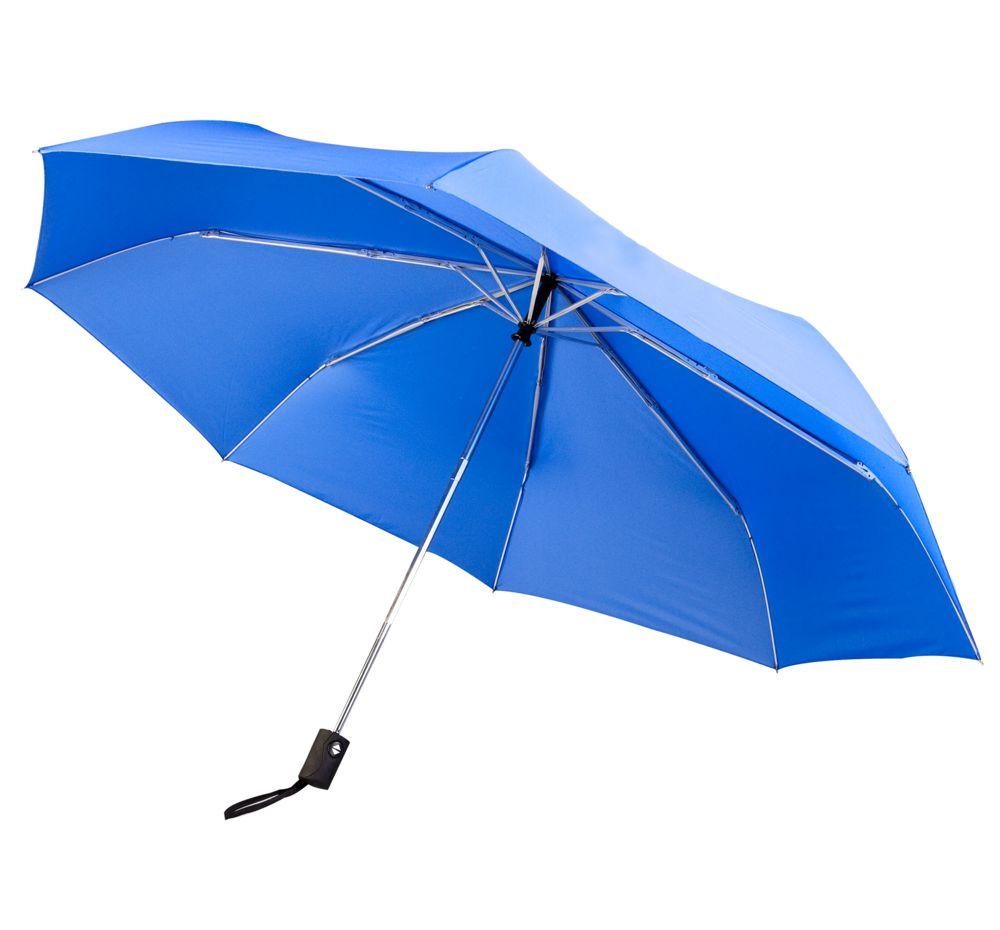 Зонт складной Unit Auto, ярко-синий