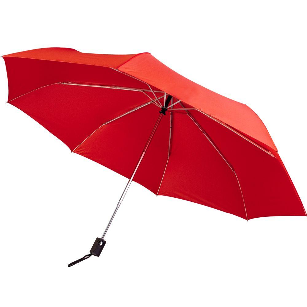 Зонт складной Unit Auto, красный