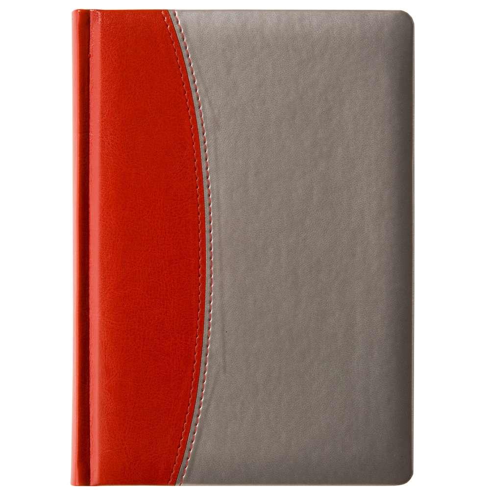 Ежедневник «Скат», красный, недатированый