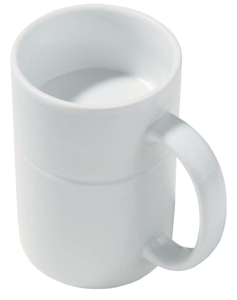Кружка «Кофечайная 2 в 1»