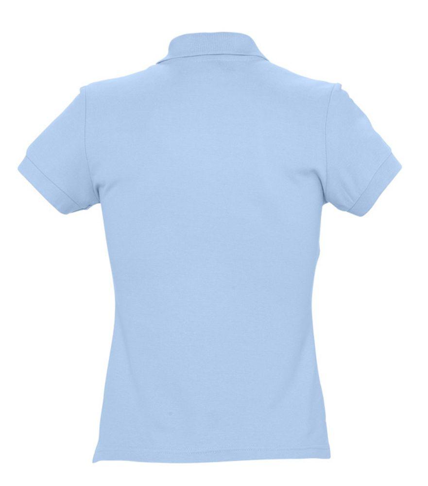 Рубашка поло женская PASSION 170 голубая