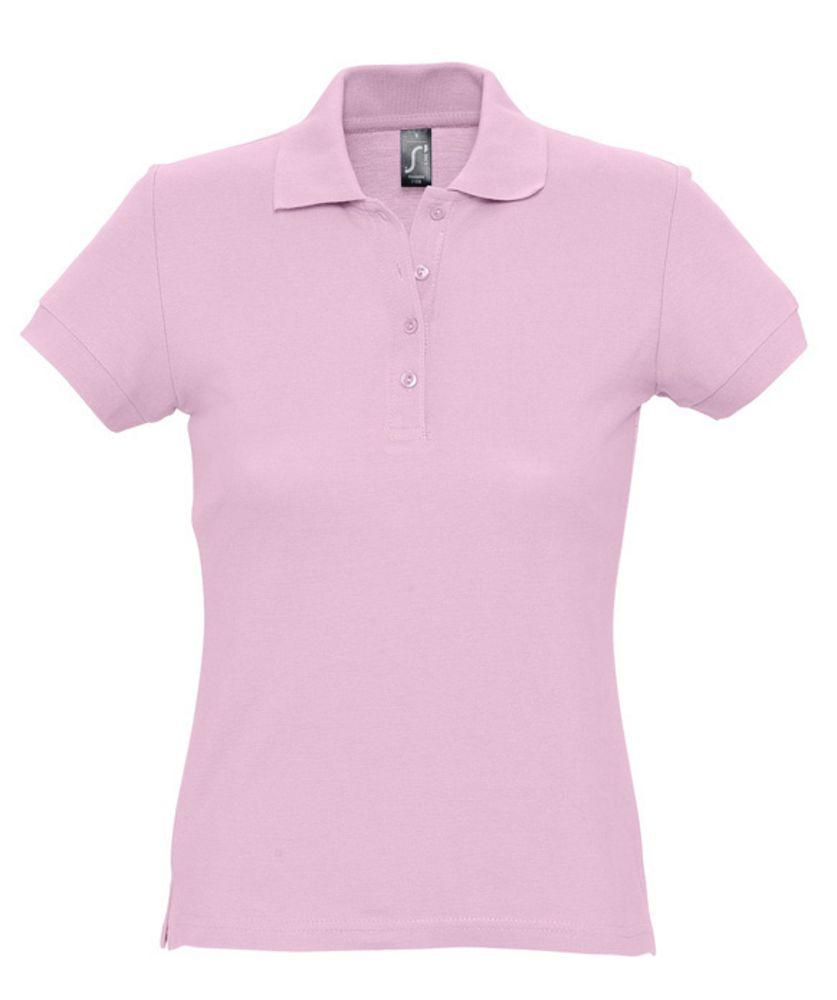 Рубашка поло женская PASSION 170 розовая