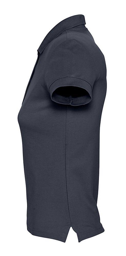 Рубашка поло женская PASSION 170 темно-синяя (navy)