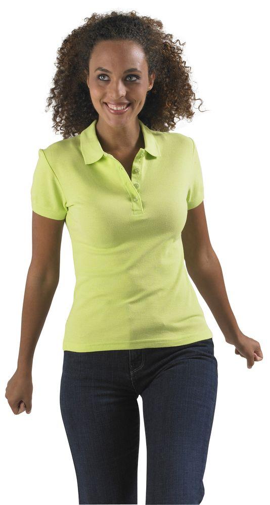 Рубашка поло женская PASSION 170 бирюзовая