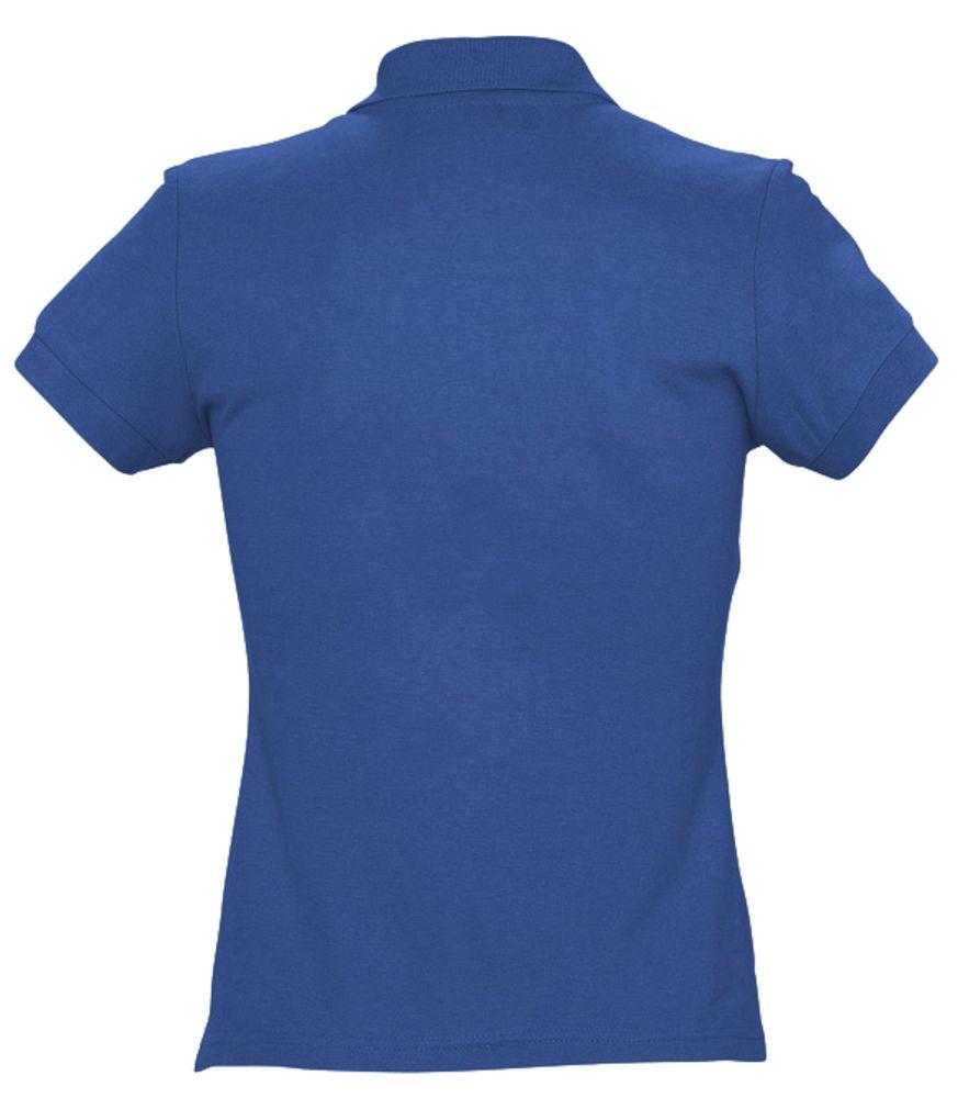 Рубашка поло женская PASSION 170 ярко-синяя (royal)
