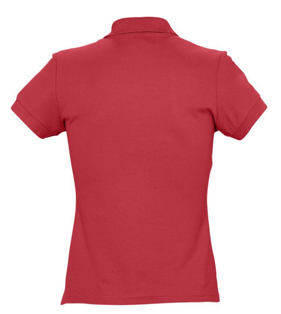 Рубашка поло женская PASSION 170 красная