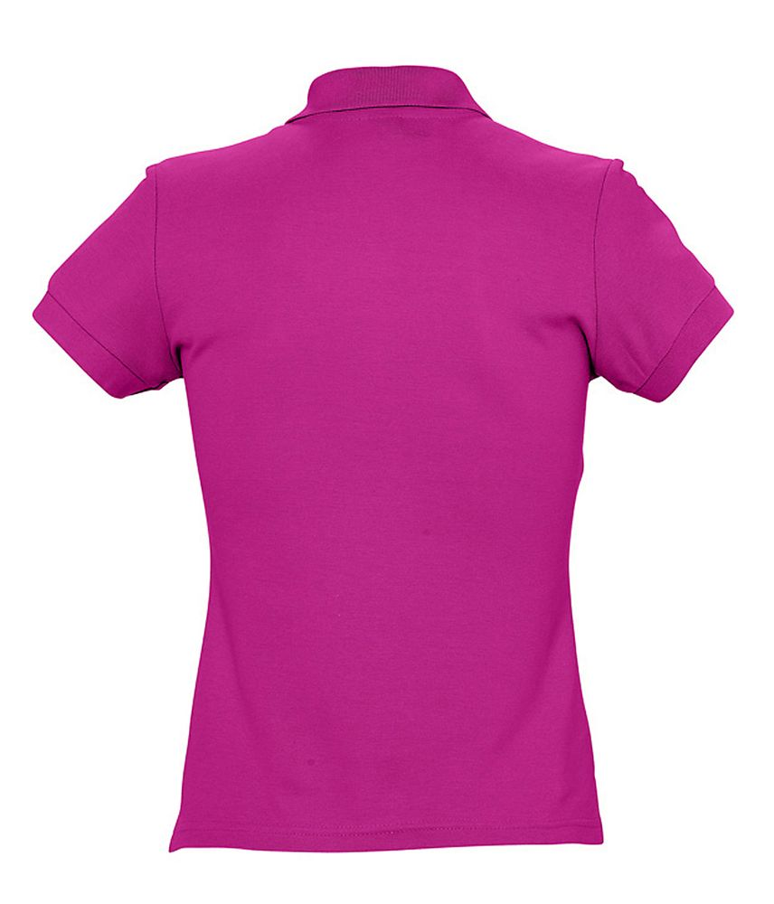 Рубашка поло женская PASSION 170 темно-розовая (фуксия)