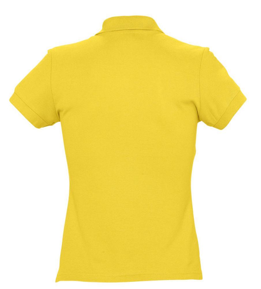 Рубашка поло женская PASSION 170 желтая