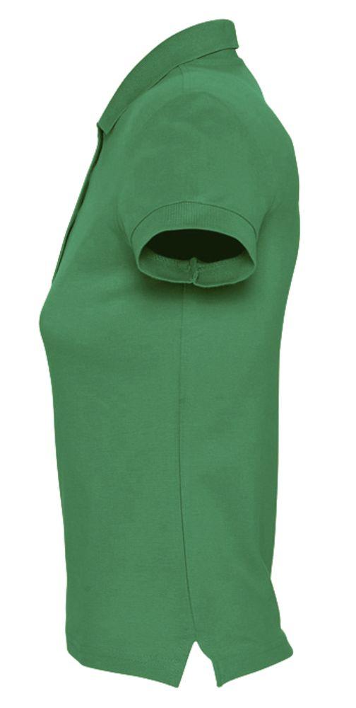 Рубашка поло женская PASSION 170 ярко-зеленая