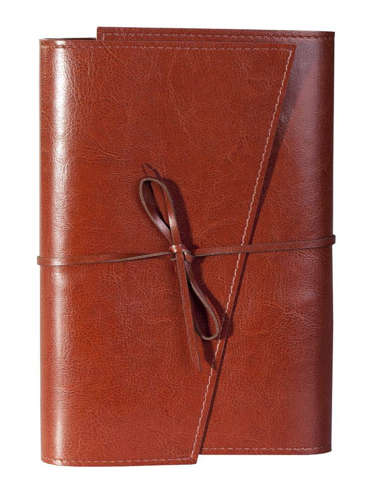 Ежедневник NEBRASKA, в мягкой обложке, недатированный, коричневый