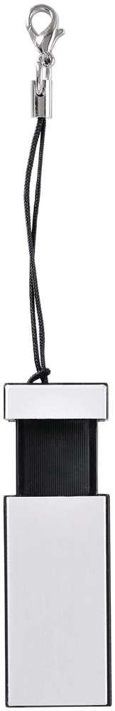 USB-флеш-карта Slide, черная, 4 Гб