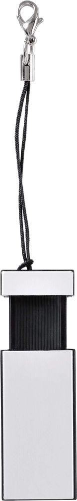 USB-флеш-карта Slide, черная, 8 Гб