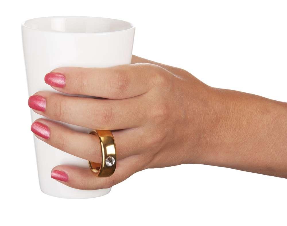 Кружка «Предложение» с ручкой в виде кольца