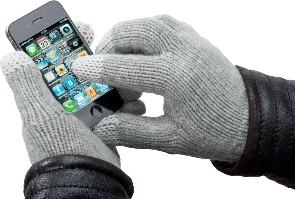 Перчатки для iPhone, темно-синие
