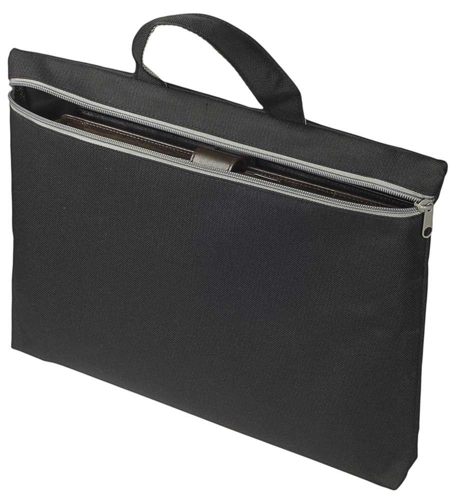 Конференц сумка-папка SIMPLE, черная