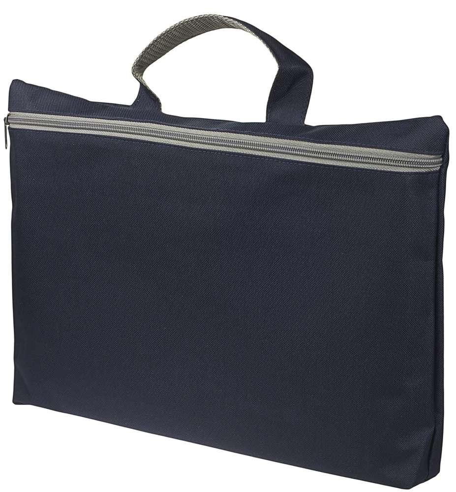 Конференц сумка-папка SIMPLE, темно-синяя