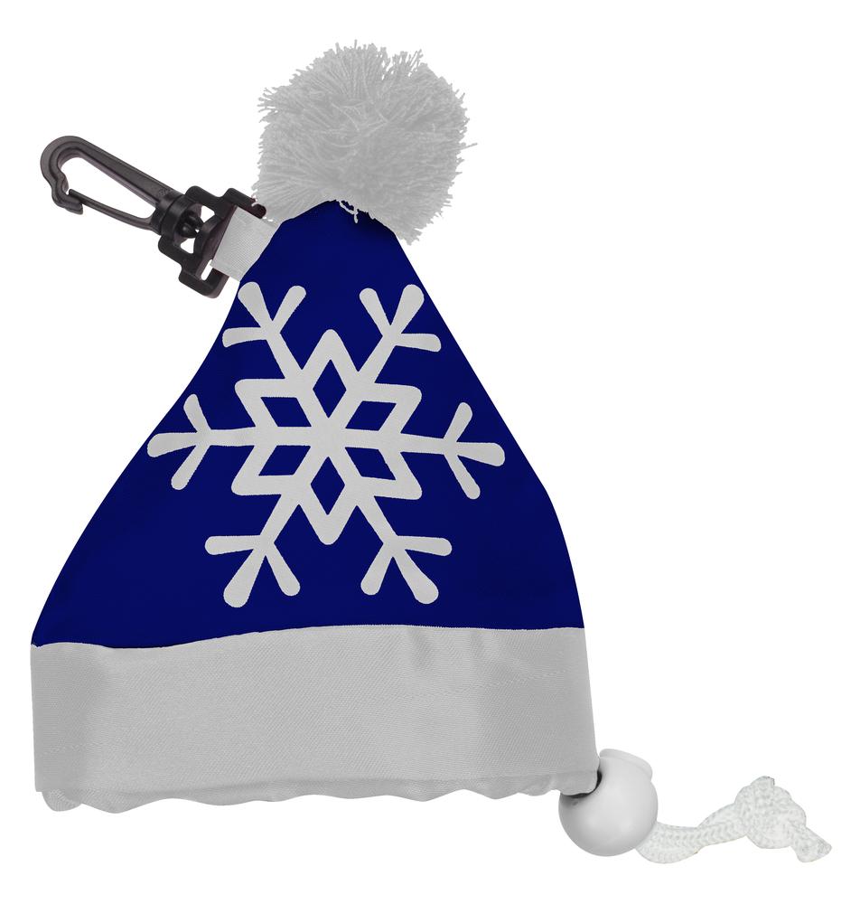 Сумка «Новогодняя шапка», синяя