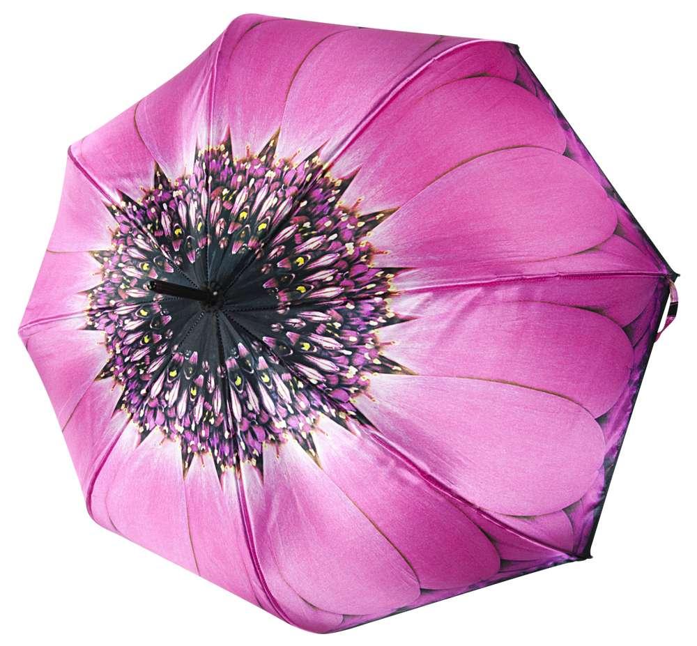 Зонт «Гербера», розовый